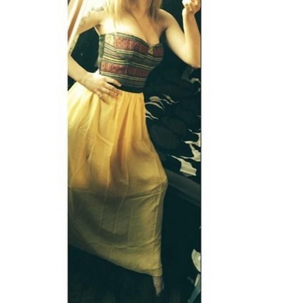 dress summer dress maxi dress