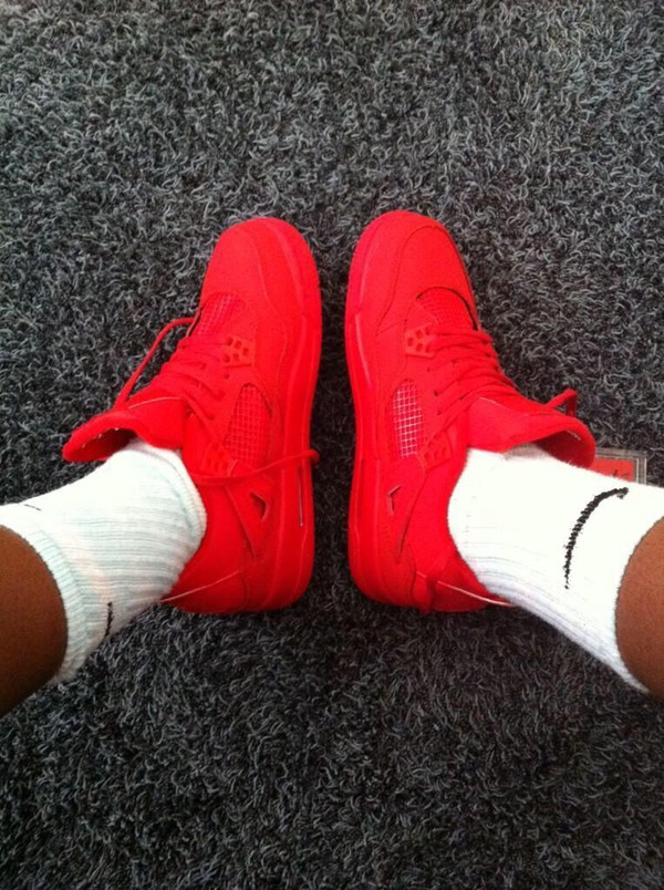 Red Shoes Nike Running Shoes Neon Air Max Air Jordan