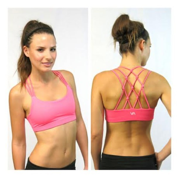 Underwear: strappy sports bra, activewear, sports bra, active wear ...