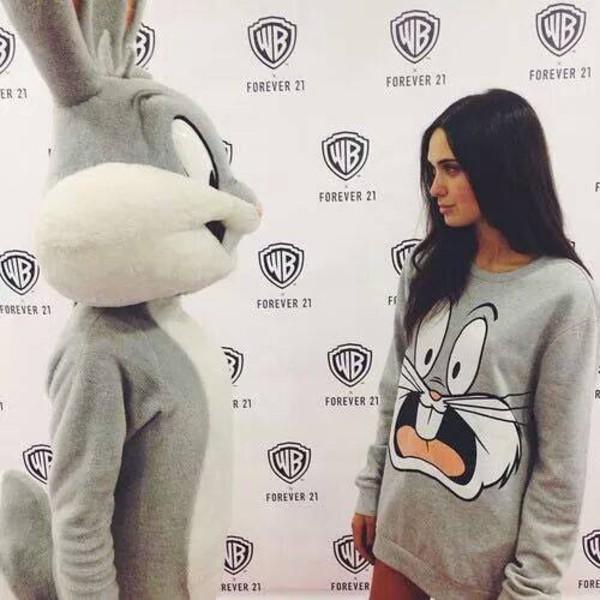 sweater bugs bunny shirt