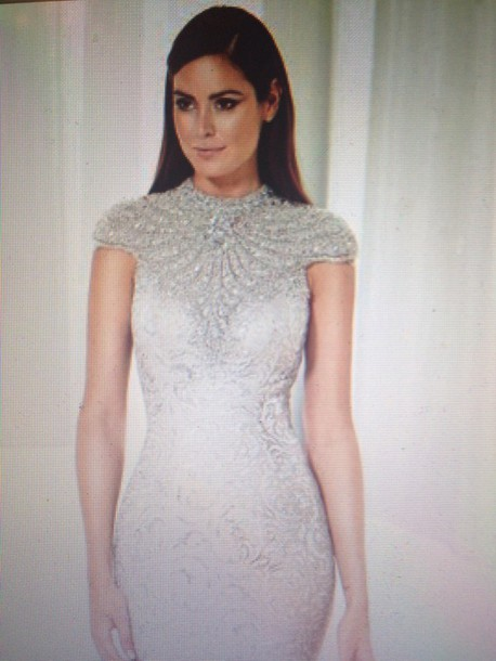 dress embellished bodycon dress jewelled dress