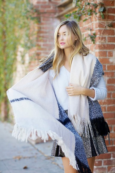 late afternoon blogger jewels scarf