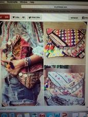 bag,clutch,boho,vintage,style