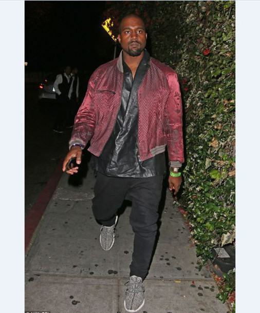 Kanye West Bomber November 2017