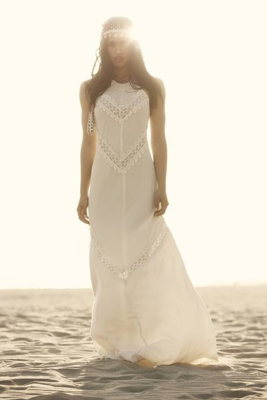 dress long dress white dress lace dress lace white lace dress white long dress boho dress hippie boho gypsy gypsy gypsy dress