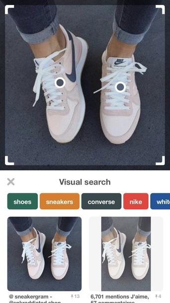 shoes nike light pink