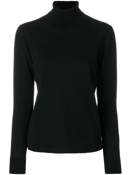 PAULE KA jumper women black wool sweater