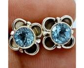 jewels,gemstone studs,studs,jewelry,sterling silver studs