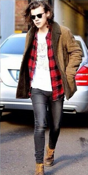 Shoes: harry styles boots with laces distressed boots work