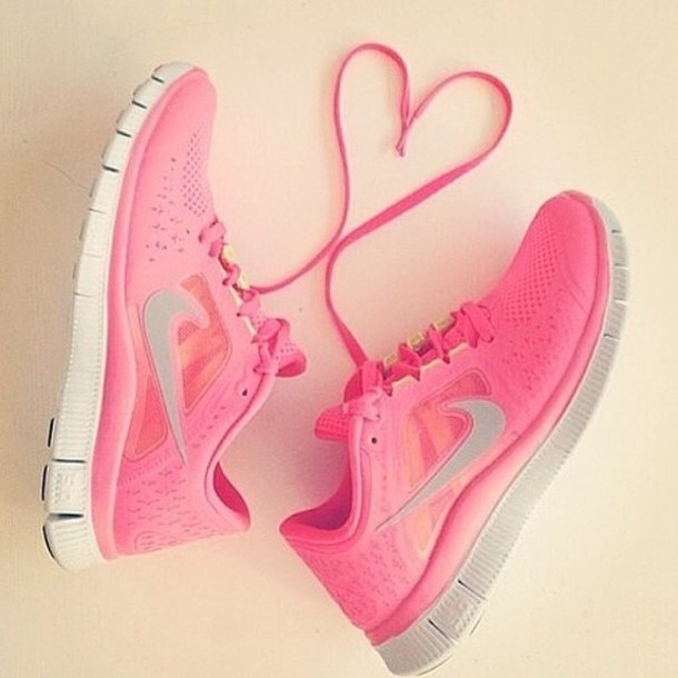 shoes sports shoes nike running shoes neon pink neon