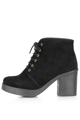 ATHENA Lace-up Ankle Boots - Topshop