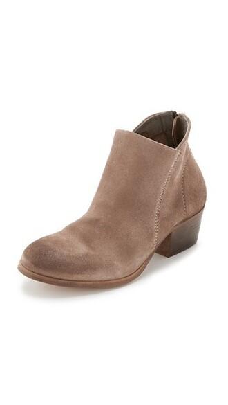 booties beige shoes