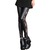 M XL Goth Punk Wetlook Side Lace Trims Sexy Black Leggings Tights Pants L412B | eBay