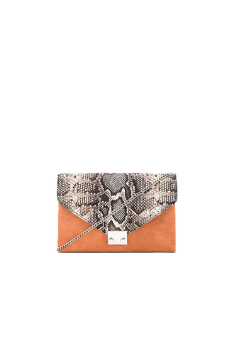 clutch tan bag