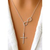 jewels,necklace,jewelry,fashion,new,cute,cool,elegant,beautiful,women,girl,preppy,cross,cross necklace,accessories,silver