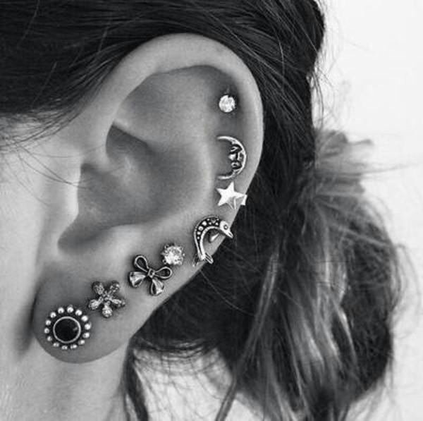 jewels earrings piercing ear piercings cute hippie www.ebonylace.net earrings earings earrings piercing