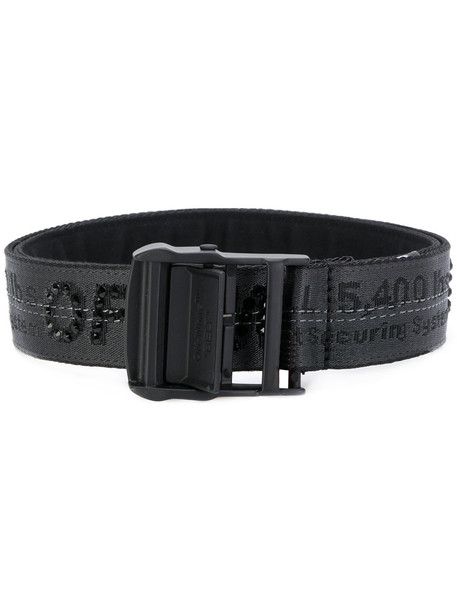 belt white black off-white