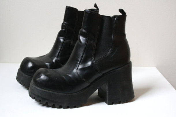shoes boots cleated sole
