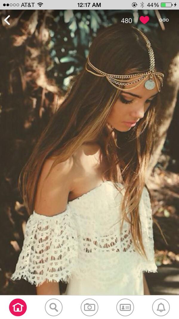 hair accessory blouse