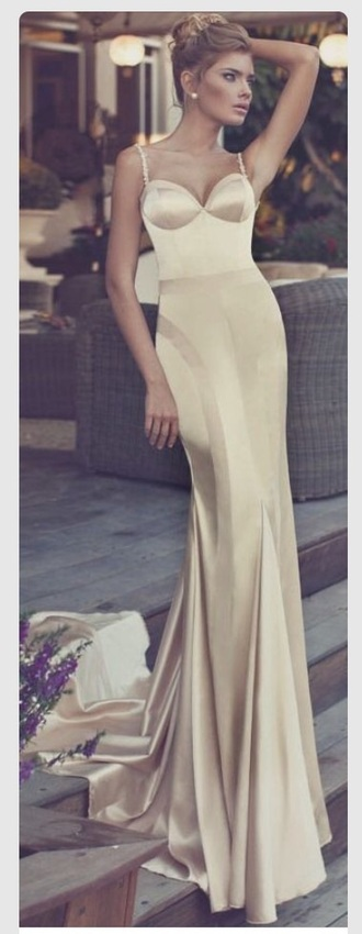 dress elegant champagne dress champagne prom dress elegant dress champagne gold sparkles sparkle dress prom dress prom gown