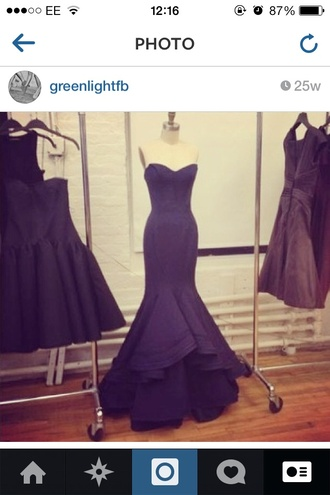 dress prom dress long prom dress black prom dress boob tube