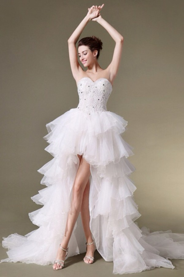 dress wedding dress white amazing