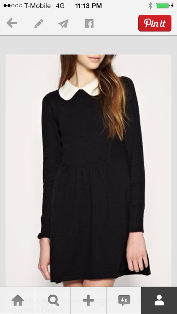 dress wednesday addams dress black