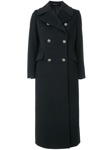 TAGLIATORE coat women black wool