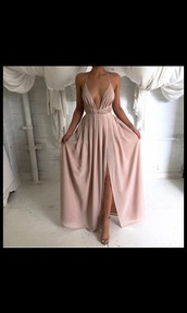dress,nude dress,nude,prom dress,simple dress,minimalist,i need them,maxi dress,boho dress,prom,long prom dress,fashion,formal,long,pastel pink,fancy,slit,open front,pale,peach,strapped,peach dress,pale dress,light pink,classy dress,cute dress,cute,boho,slit dress,beige,pink,low cut,strap dress,cleavage,long low cut v neck slit dress,low cut slit prom dress,pink dress,shoes,heels,beautiful,chic,style,stylish,fairy,rose,beige dress,baby pink,side split,simple et chic,sexy,sexy dress,tumblr,tumblr dress,long dress,coral dress,party dress,strappy,blush silk dress,formal dress,deep v-neck dress,homecoming dress,pink boho dress,backless prom dress,champagne dress,champagne,champagne prom dress,prink prom dress,chic dress,classy,spaghetti strapped,cross,criss cross,cross over dress,criss cross back,criss cross front,grad dress,nude/ pink,blush,summer dress,v neck,summer,silk dress,blush pink,straps,love,wedding,clothes,luxury wedding dresses,white dress,cream dress,chiffon,chiffon dress,chiffon prom dress,lilac,pale pink dress,pink slip dress,plunge v neck,satin dress,silk,prom gown,elegant,elegant dress,nude/blush