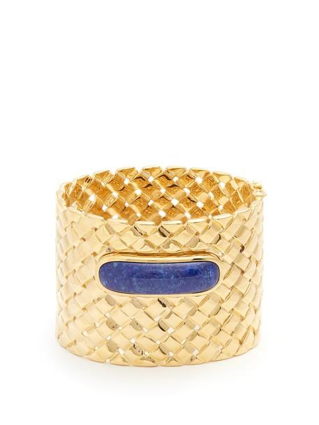 AURELIE BIDERMANN gold blue jewels