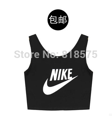 Drop shipping women clothing wholesale,American apparel high street women sport tank tops,slim all match fashion crop top tshirt-in Tank Tops from Apparel & Accessories on Aliexpress.com | Alibaba Group
