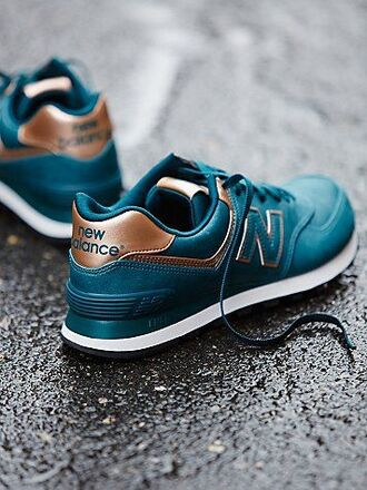 shoes sneaker new balance metal trainer 574s sneakers