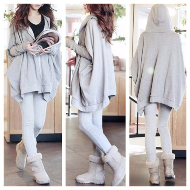 jacket, cute, oversized sweater, hoodie, coat, kawaii, cardigan, fashion,  girly, clothes, fall outfits, sweater , Wheretoget