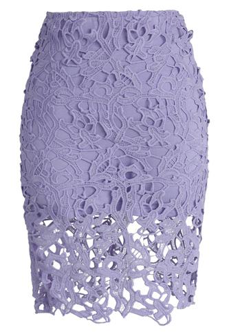 skirt chicwish crochet lace pencil skirt purple skirt lace skirt chicwish.com lace shirt