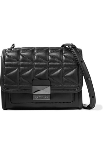 mini bag shoulder bag leather black