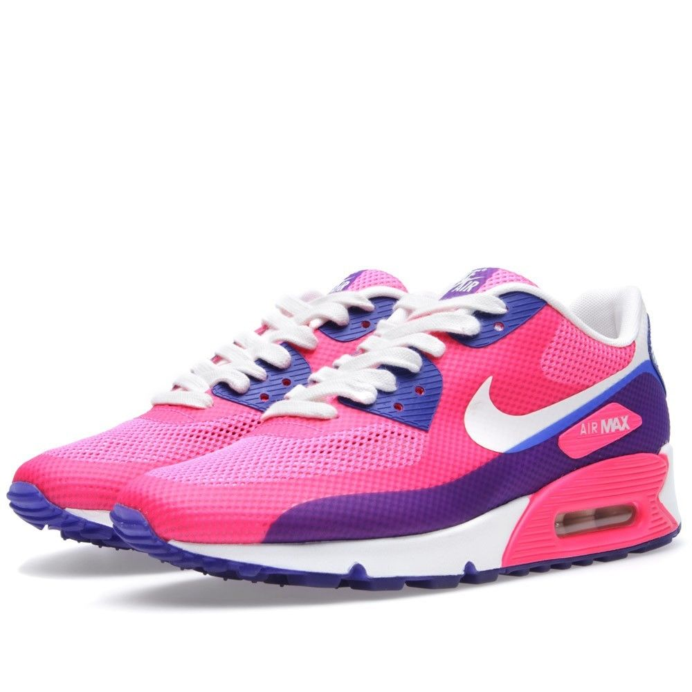 Nike Air Max 90 Hyperfuse Premium - Pink Flash/ Sail/ Blue *RARE DEADSTOCK | eBay