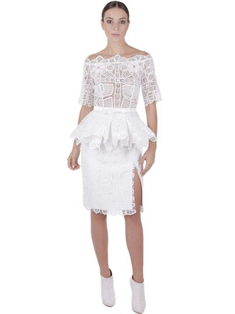 dress lace dress lace cotton white