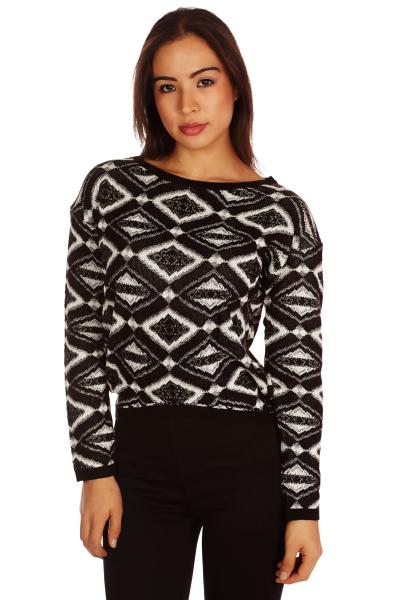 Geo pattern sweater