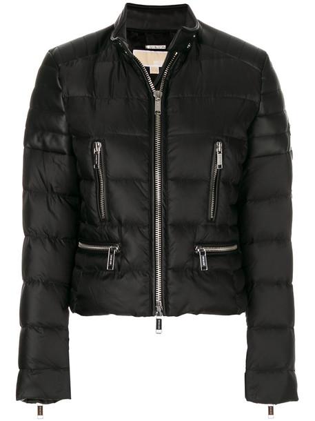 jacket puffer jacket women black