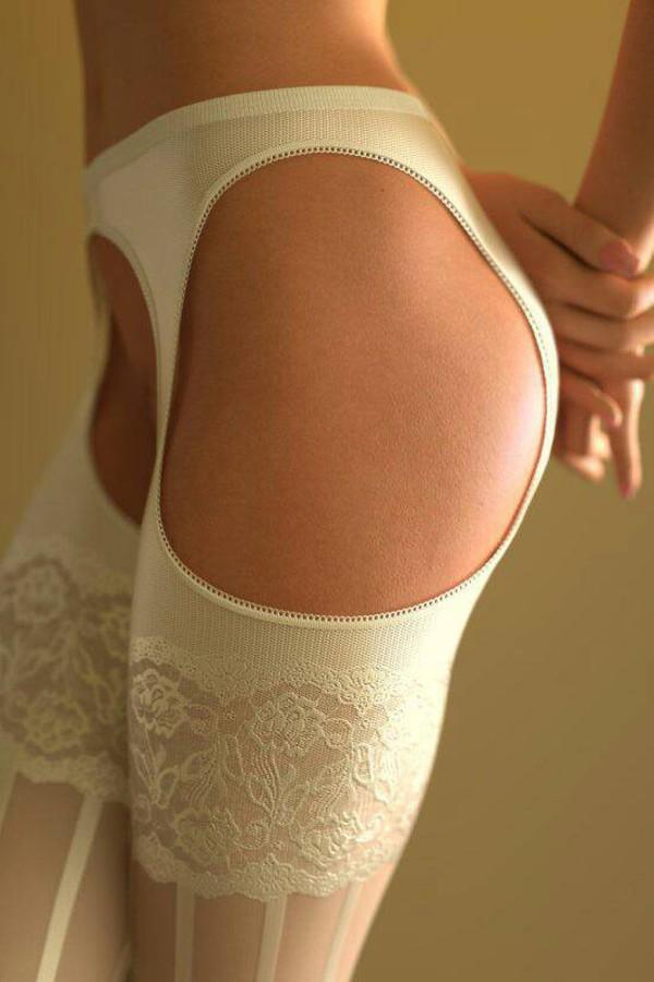 Leggings Mesh Garter Stockings Pantyhose Tights Open