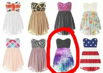 prom dress prom dress galaxy dress