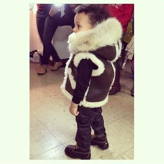 jacket suede jacket fur faux fur jacket