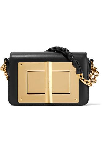 mini new bag shoulder bag leather black