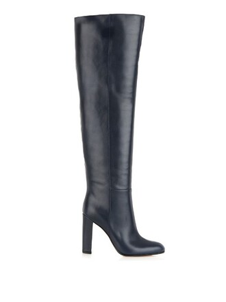 boots leather boots leather navy shoes