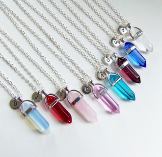 jewels bubblegum graffiti crystal crystal quartz personalized necklace personalized jewelry personalized gifts personalized gift custom jewelry custom necklace custom gift custom gifts crystal jewelry initial necklace monogram necklace initial jewelry monogram jewelry monogram gifts initial gifts birthstone necklace birthstone initial necklace initial birthstone necklace monogram birthstone necklace rose quartz opalite opal sapphire crystal clear ruby red gemstone raw crystal raw stone grunge gypsy boho hippie hipster new age