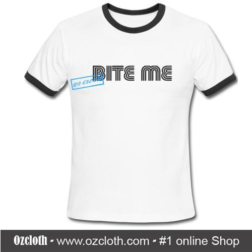 Bite Me Ringer Shirt