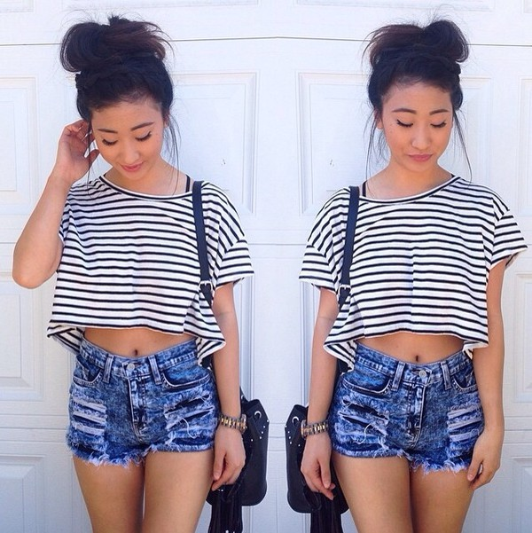 High waisted shorts shorts