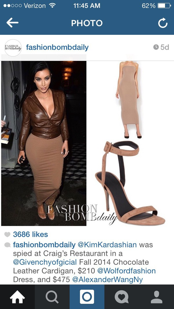 02a0a3c6fa7 Aliexpress.com   Buy kim kardashian brown leather blouse kim ...