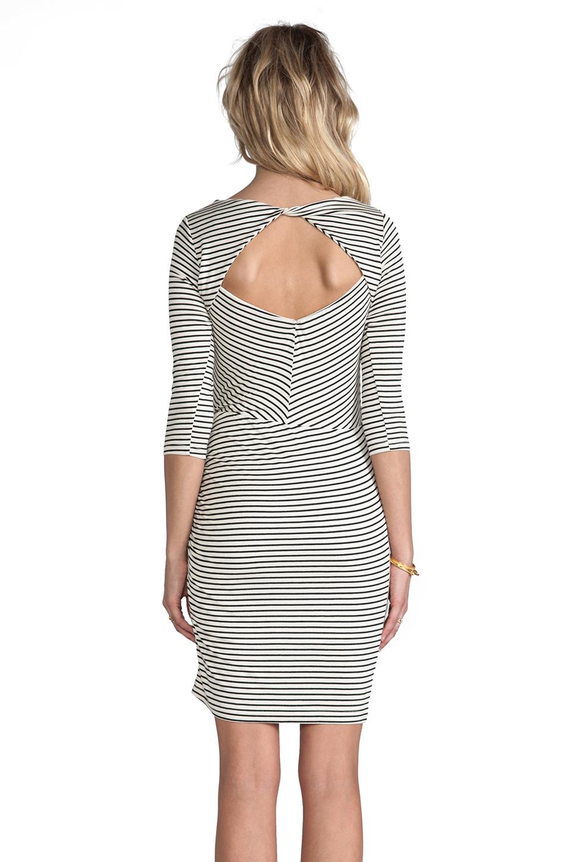 Greylin Calista Stripe Knit Dress in Ivory | REVOLVE