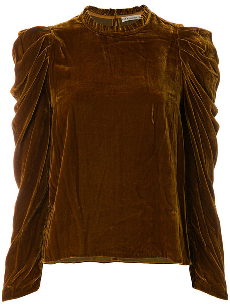 Ulla Johnson blouse women silk brown top